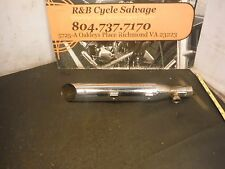 Harley Davidson Dyna Sportster Exhaust Muffler Can Slip On Pipe 64987-08