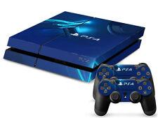 Sony PS4 Playstation 4 Skin Design Aufkleber Schutzfolie Set - Pure Motiv