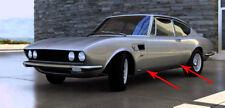 2x gonne Ornamentali Barra Cromo Barra Barra Fiat Dino 2400 2,4 COUPE 1969-72 Set