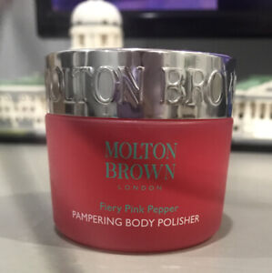 New molten brown pampering body polisher, Fiery Pink Pepper 1.7fl oz