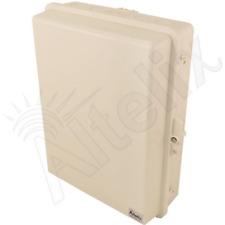 Altelix 17x14x6 Polycarbonate Weatherproof Tan Beige Nema Box Outdoor Enclosure