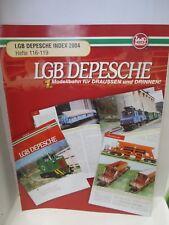 LGB DEPESCHE INDEX 2004 Hefte 116 - 119