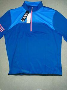 Adidas Track Jacket Aqua/Orange Mens  Size XL. BNWT