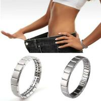 Unisex Magnetic Bracelet  Weight Loss Healing Therapy Stretch Stone Health Care