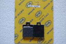 FRONT BRAKE PADS fit PIAGGIO VESPA 96-05 ET2 ET4 50 125 150, 96-04 ZIP 50 125