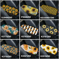 Sunflower Fashion Car Center Console Box Cover Armrest Cushion Pad Universal Fit