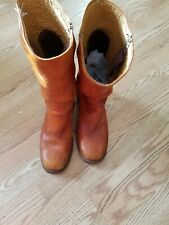 Vintage Frye riding boots n size 13 m  brown