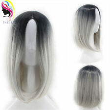 14'' Bobo Short Straight Synthetic Ombre Wigs Hair Cosplay Sexy Full Head Wig