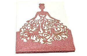 Quinceanera Invitations Laser Cut With Printable Inner Sheets