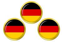 Allemagne Drapeau Marqueurs de Balles de Golf