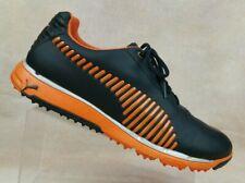 PUMA FAAS Grip Black and Orange Spikeless Golf Shoes 18622403 Men's 12 / EUR 46