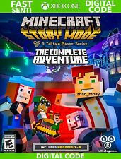 Minecraft Story Mode The Complete Adventure FULLGAME DOWNLOAD XBOX ONE FAST SENT