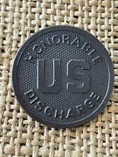 WWI US Honorable Discharge Collar Disc Style Original