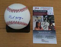 Brendan McKay Tampa Bay Rays Autograph Signed Rawlings MLB Baseball JSA COA