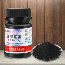 25g 98.5% Pure Methylene Blue Indicator C16H18ClN3S·3H2 AR grade Reagents kitHO