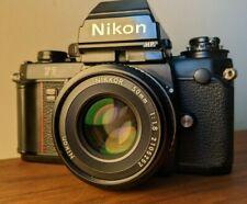 Nikon F3HP 35mm SLR Film Camera + Pancake NIKKOR 50mm f/1.8 AI-s