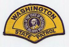 Vintage Washington State Patrol Police Uniform/Shoulder Patch WA