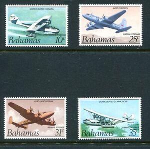 Bahamas 1983 Airmail Unused(NH) Set #C1a-C4a without Emblem