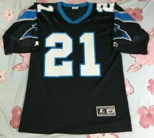 Vintage 90's Carolina Panthers Tim Biakabutuka #21 Football-NFL Starter Jersey M