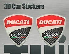 Vinyl brillant 2 pièces Couleur au choi Sticker Autocollant DUCATI Vintage
