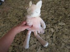 Mary Meyer 13in FabFuzz-Ferrara Fox-Plush Stuffed Animal Toy-Pink Tutu-Francesca
