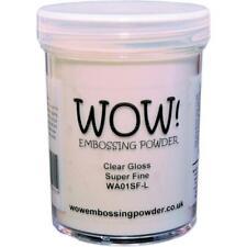 WOW Embossing Powder Super Fine 15ml Clear Gloss