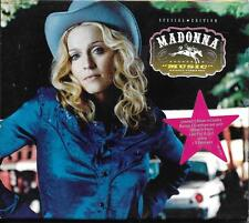 DOUBLE CD AVEC FOURREAU 17T MADONNA MUSIC SPECIAL EDITION Enhanced CD 2001