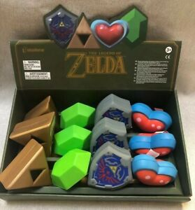 Official Nintendo Legend Of Zelda Stress Ball Complete Set- Case Of 12 NEW