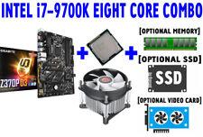 Intel Core i7-9700K 8-CORE CPU GIGABYTE Z370P D3 M.2 1151 Motherboard SSD COMBO