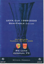 Stadium pirate Issue Lens v Arsenal 20/4/2000 UEFA Cup Semi-Final 2nd Leg