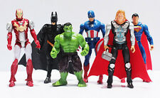 Super Heroes Action Figures Marvel Avengers Justice League Spider Iron Thor