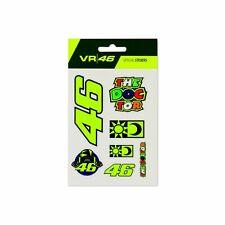 Valentino Rossi VR46 Classic The Doctor 46 Sun & Moon Stickers Set Small