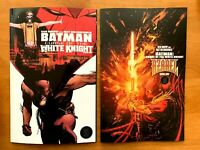 BATMAN CURSE OF THE WHITE KNIGHT 1 Sean Murphy Main + Variant DC 2019 NM+