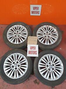 "Vauxhall Meriva B 16 Inch 16"" Alloy Wheels and Tyres 2055516 5 Stud 2010-2017"