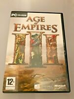 Age of Empires 3 (III): PC Windows CD ROM, Inc Product Key, Quick Ref, Manual A1