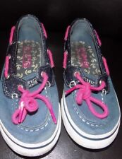 SPERRY TOP SIDER   WOMENS CASUAL  SHOES SIZE  1 .5 USED  L@@K NICE SHOES