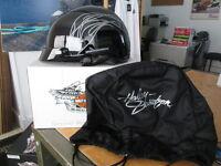 Harley Davidson Womens Destination Flame Script Gloss Black Helmet 98260-07V