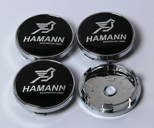 4Pcs 60mm Alloy Car Wheels Center Caps Hub Cover Hubcap Emblem Badges For HAMANN
