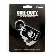 Call of Duty Skull Logo Dog Tag Metal Key Chain Bottle Opener NEW UNUSED