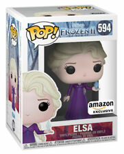Funko Pop! Movies: Frozen II - Elsa Vinyl Figure (Amazon Exclusive)