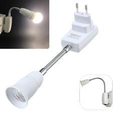 E27 Glühbirne Lampenhalter Flexible Verlängerung Adapter Steckdose-Konverter-DE