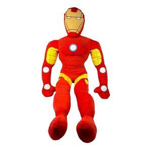 """Marvel Iron Man 2 Pillow Time Pal Plush 2012 Avengers Jay Franco & Sons 27"""""""
