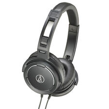 Audio Technica ATH-WS55 Black Solid Bass Over-Ear Headphones Refurbished