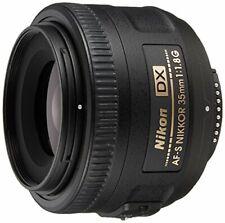 Nikon single focus lens AF - S DX NIKKOR 35 mm f / 1.8 G Nikon DX format only