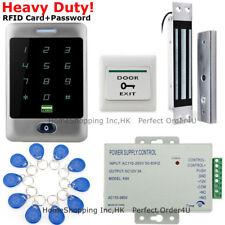 Waterproof 125Khz Rfid Card + Password Access Control System+Door Magnetic Lock