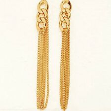 New Wired Elegant Women Long Lady Style Chic Tassel Drop Earrings Dress Retro