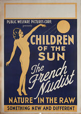 Children of the Sun 1934 U.S. One Sheet Poster