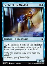 Scribe of the Mindful NM X4 Amonkhet Blue Common MTG