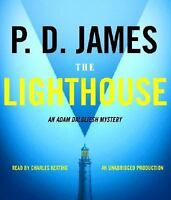 The Lighthouse  Adam Dalgliesh Mystery Series #13  2005 by P. D. Jame Ex-library
