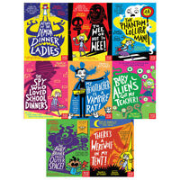 Pamela Butchart Collection Baby Aliens Series 8 Books World Book Day 2018 Set